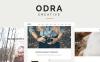 ODRA:多用途WordPress主题,适用创业公司工作室创意机构作品展示