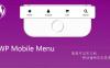 WP Mobile Menu:Wordpress网站手机端底部自适应导航菜单插件